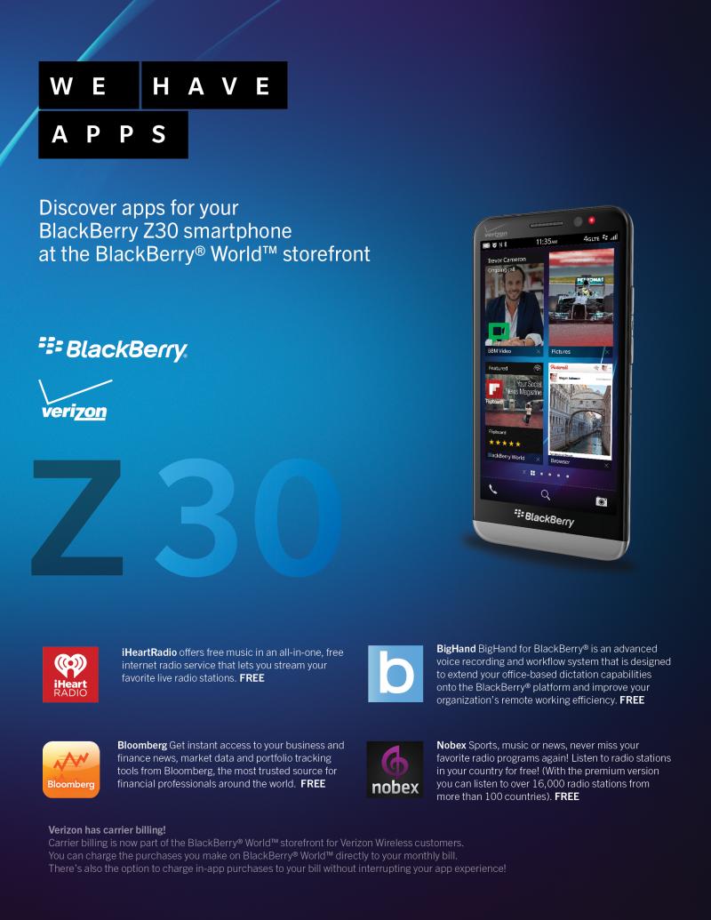 Z30 App Card