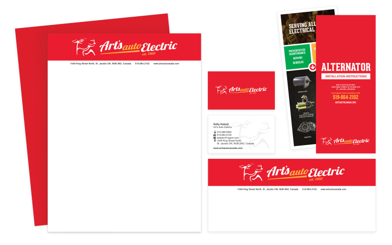 Arts Auto brochures