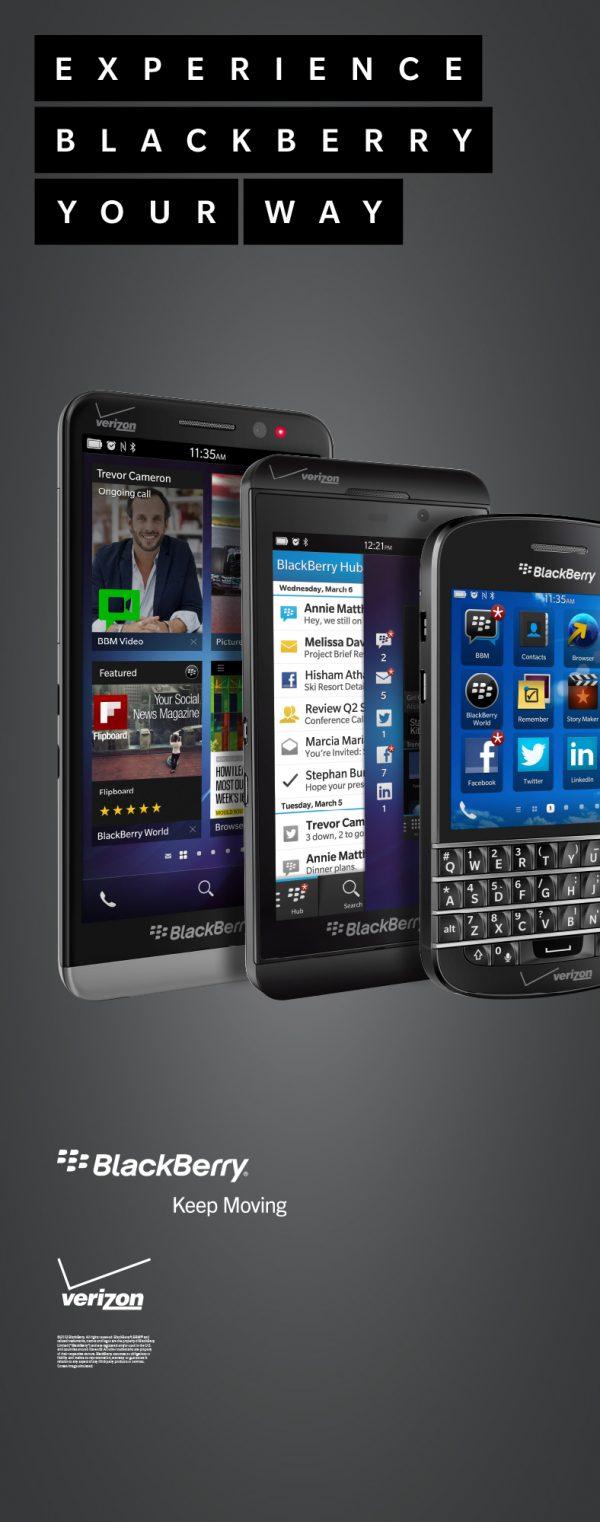 Blackberry trio